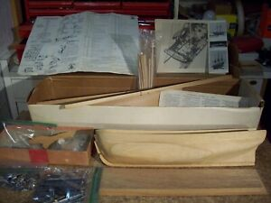 Uss Constitution 18 Wood Ship Model Sailing American Tall Boat