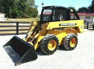2004 John Deere 260 Skid Steer With 2080 Hrs Can Ship For 1 85 Loaded Mile