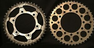 Lot 2 Large 9 Vintage Steampunk Industrial Art Gears Decor Projects Nice Size