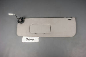 2004 2010 Toyota Sienna Driver Side Sun Visor Covered Lighted Mirror