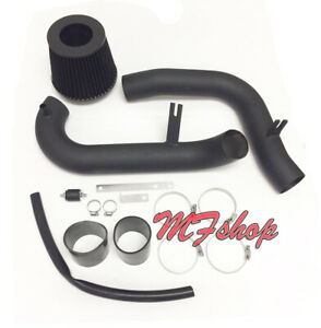 Coated Black For 2001 2005 Honda Civic 1 7l L4 Mt Dx Lx Ex Hx Cold Air Intake