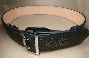 Women s Gould Goodrich B192 40w Sally Browne Chrome Duty Belt Fits 40 Waist