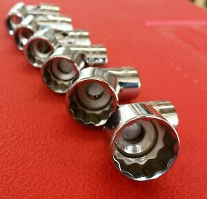 Snap On New Never Used 6 Piece Swivel Socket Set Made In Usa Free Shipping