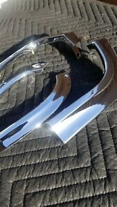 1963 Chevrolet Impala Upper And Lower Eyebrows Moldings Triple Chrome