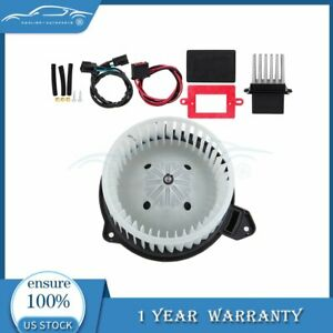 Fit For Jeep Grand Cherokee 02 04 A c Heater Blower Motor And Resistor