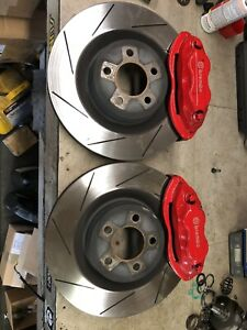 Brembo 4 Piston Caliper And Rotors Off A Srt 8 2013 Charger
