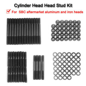 Cylinder Head Stud Kit For Pce279 1001 Small Block Chevy Sbc 305 327 400 350 Lr