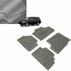 2002 2003 Highlander Floor Mats Carpet Gray Genuine Toyota Oem Pt208 48010 01