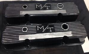Mickey Thompson M T Valve Covers 352 427 Ford Mustang Cougar Torino Cobra