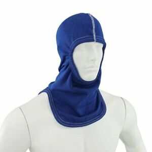 100 Nomex Protective Fire Hood Nfpa Majestic Pac Royal Blue Firefighting Hood