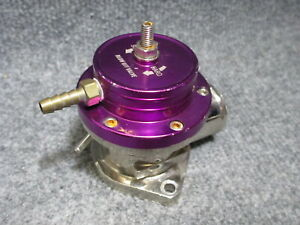 Universal Purple Top Lip Turbo Recirculating Blow Off Valve Turbocharger Bov