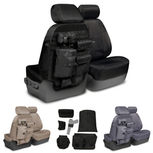 Coverking Tactical Ballistic Molle Custom Fit Seat Covers For Nissan Titan