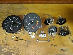 1985 Ford Thunderbird Turbo Coupe Instrument Panel Gauges Set Of 6