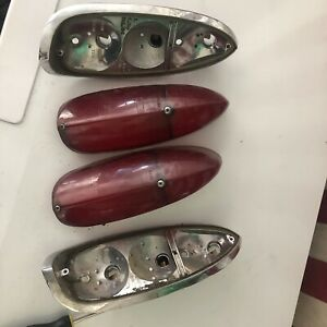 Vw Type 3 Squareback Tail Light Assembles Left Right Used Complete