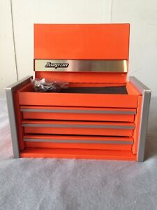 Snap On 3 Mini Micro Top Chest Tool Box Rare Brand New