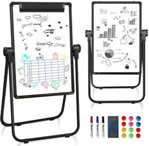 24x36 U stand Magnetic Dry Erase White Board Easel Height Adjustable Foldable