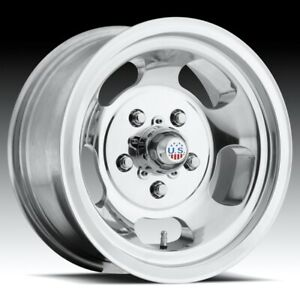 15x9 Us Mag Indy U101 5x4 75 Et1 Polished Wheels Set