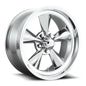 15x7 Us Mag U108 5x4 75 Et 05 Polished Wheels Set