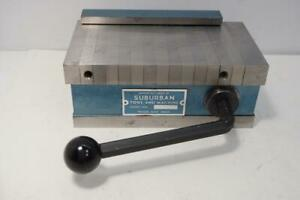 New Old Stock Suburban Tools 3 X 6 Magnetic Chuck Mc36fp Usa Made