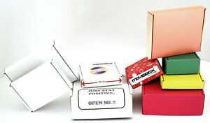 Pack Of 10 Small Strong Shipping Postal Cardboard Mailing Boxes F Type