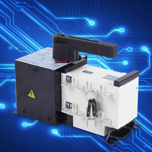 Automatic Transfer Switch 4p 100a 400v Dual Power F Generator Changeover Switch