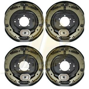 2 Pairs 12 X 2 Left Hand Right Hand Electric Brake Assembly Kit