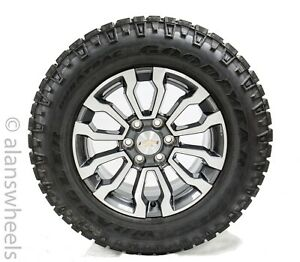 4 At4 Chevy Silverado Tahoe Suburban Avalanche 18 Wheels Rims Duratrac Tires