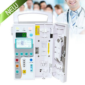 Veterinary Lcd Infusion Pump Iv Fluid Administration Kvo Animal Pet Livestock