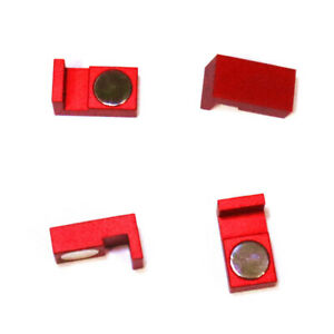 Magnetic Parallel Keepers Holders Vise Cnc kurt machinist Tools Red