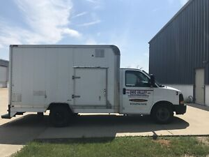 2008 Chevy Cube Van With White Magic Truck Mount Carpet Cleaning Van