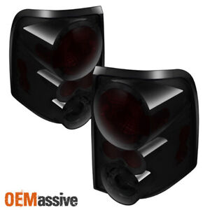 Fits 02 05 Ford Explorer 4dr Smoked Brake Tail Lights Lamps Left right