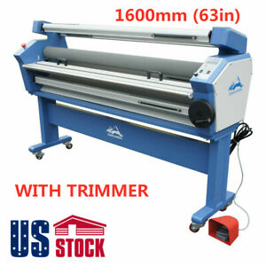 Usa 63 Full auto Wide Format Cold Laminator Heat Assisted Laminating Machine