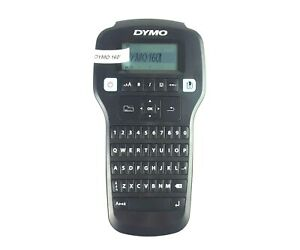 Dymo 160 Portable Label Maker One touch Qwerty Keyboard Large Display Black