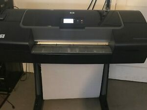 Hp Designjet Z2100 Q6675c 24 Wide format Printer Plotter W stand