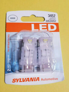 Sylvania 3457 Bright White 6000k Led 3357 4157 Replacement Bulb