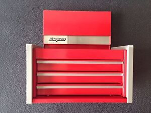 Snap On Red Mini Micro Top Chest Tool Box Rare Brand New