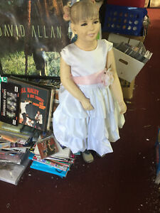 Child Mannequin Smiling Happy Girl About 2 Years Old Wearing Dress