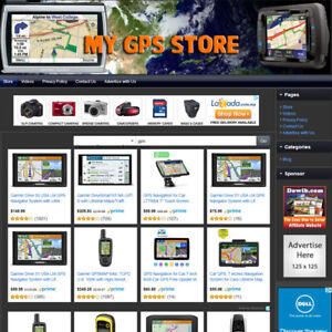 Gps Store Fully Functional Website Highly Profitable Internet Home Business
