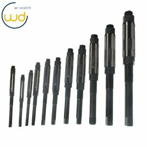 New 11pcs Adjustable Hand Reamers Set h4 h14 15 32 To 1 1 2 Hss High Quality