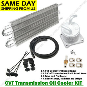 Cvt Transmission Oil Cooler Kit For Nissan Juke Rogue Sentra 21606 1xf0a
