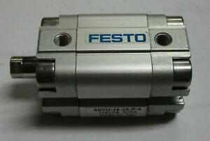 Festo Compact Cylinder Advu 16 10 p a Used Take Out