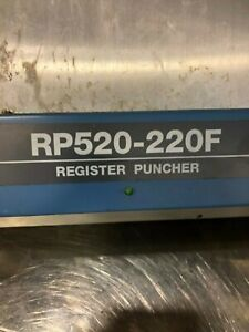 Ryobi Rp Rp 520 220 F Plate Punch Gto 52 Plate Punch