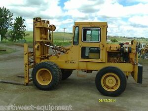 Windham 10 000 Lbs Capacity Forklift Diesel Powered Side Shift Fork Postioners