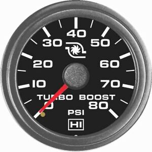 Hewitt 102 103 1r1 Universal Turbo Boost Gauge Kit 80 Psi