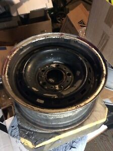 15 Rally 5 Lug Steel Wheel 6 5 Wide Chevy Gmc Truck 73 87 C 10 Straight True