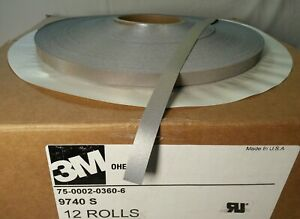 1roll 200m Scotchlite 3m 9740s 75 0002 0360 6 Iron on Reflective Material 1 2