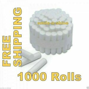 5 High Quality Dental Disposable Cotton Rolls 1000 Pcs Pack Free Shipping