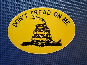 Dont Tread On Me Sticker Gadsden Flag Decal 8 5x5 5 Inch High Quality