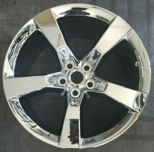 20 Chevy Camaro Factory Oem Chrome Alloy Wheel Rim 20x9 2010 2014 Rear Wheel