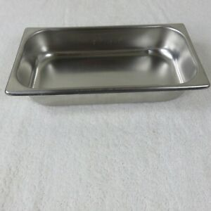 Vintage Vollrath 2032 2 Stainless Steel Hotel Food Pan Steam Buffet 2 3 4 Qt Usa